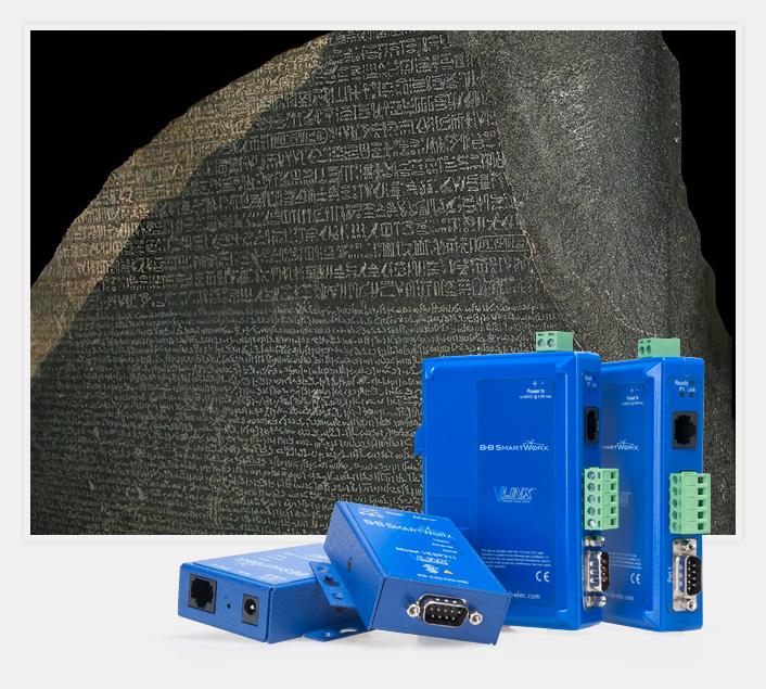 B+B SmartWorx® Serial Servers