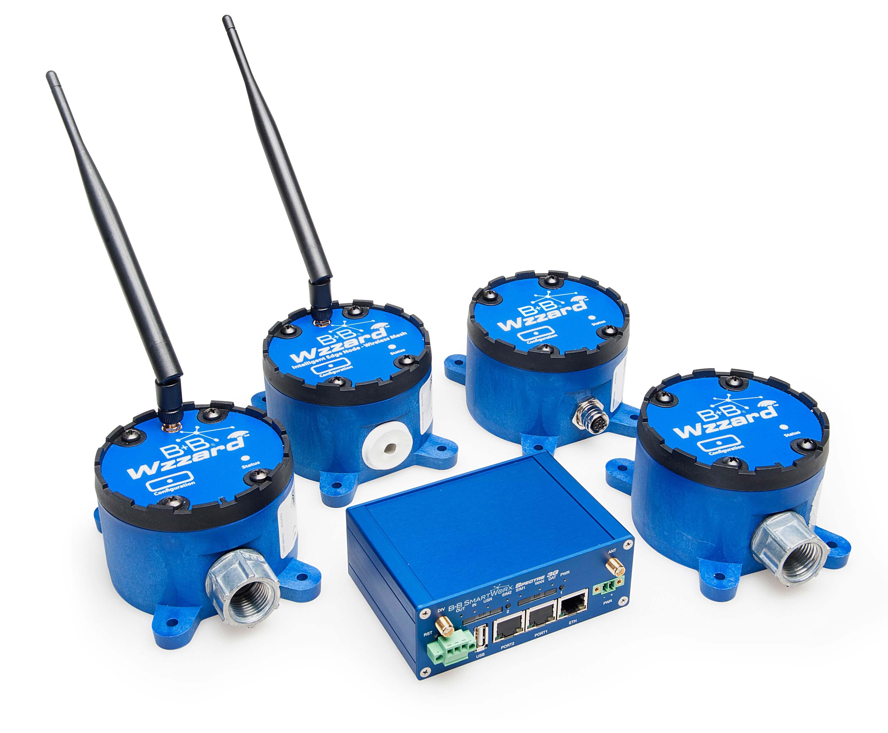B+B SmartWorx® Wzzard™ Intelligent Sensing Platform