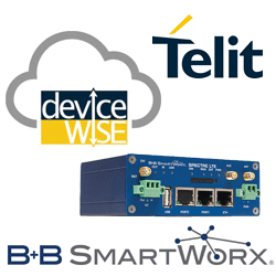 Telit DeviceWise and B+B SmartWorx Spectre