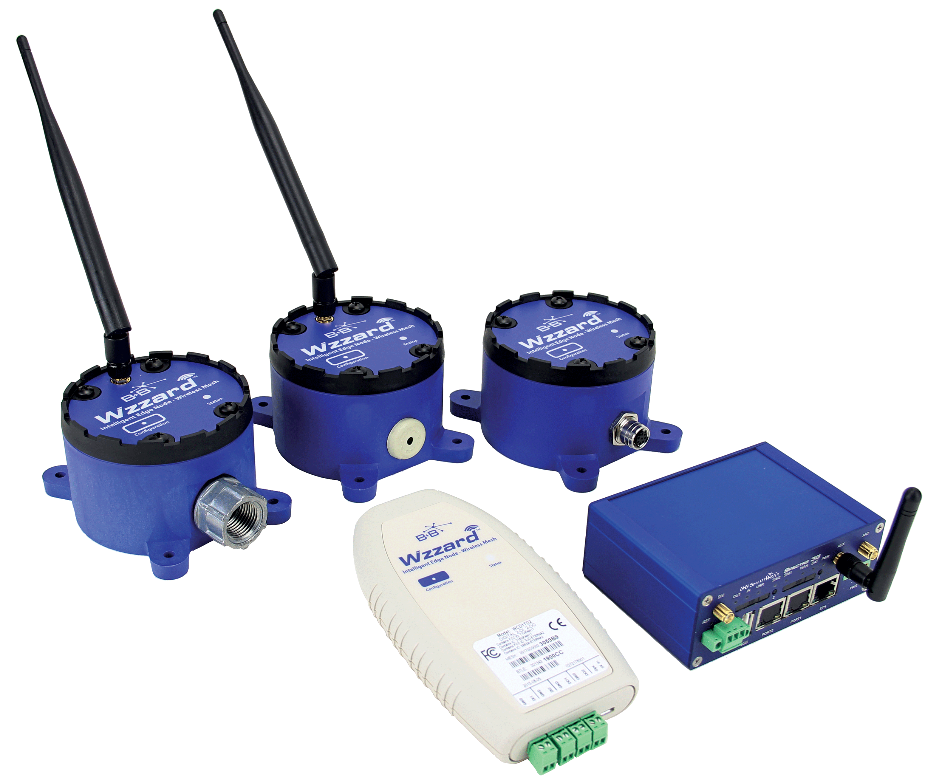 B+B SmartWorx® Wzzard™ Intelligent Wireless Sensor Platform