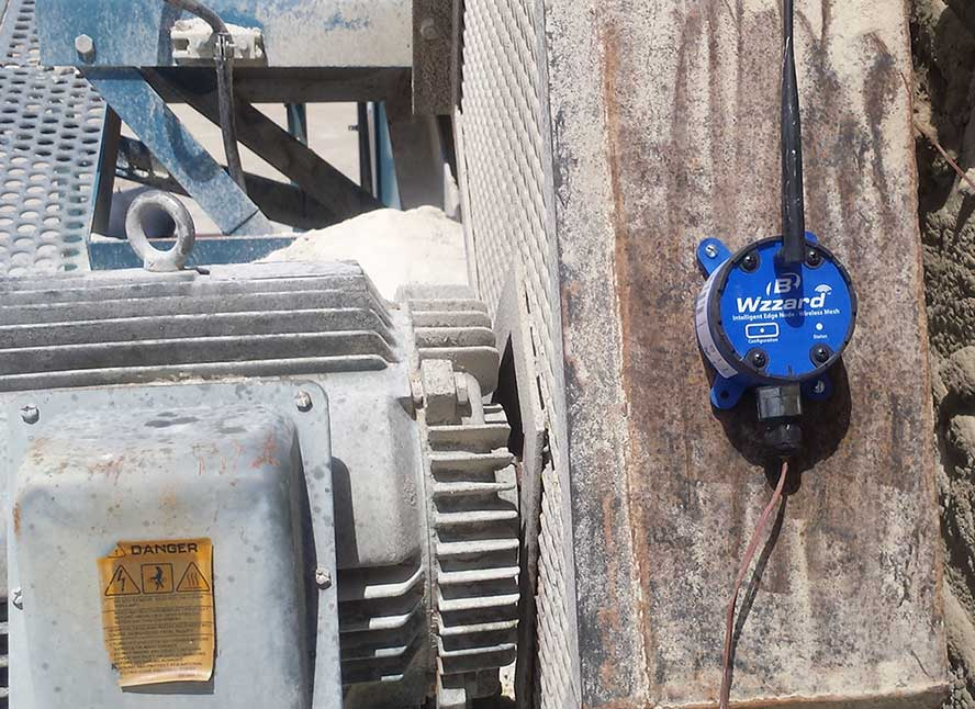 Machine Condition Monitoring - Wzzard in a Quarry