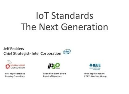 IoT Standards: The Next Generation