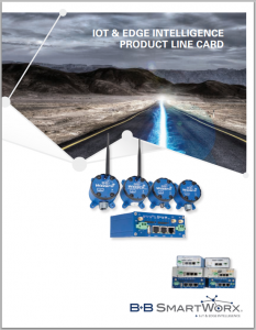 IoT & Edge Intelligence Product Line Card