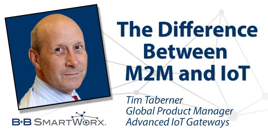 The Difference Between M2M and IoT
