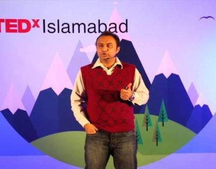 Fighting effects of climate change with internet-of-things | Umer Adnan | TEDxIslamabadSalon