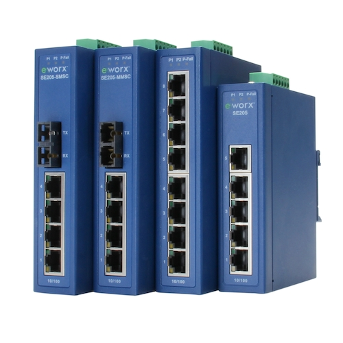 SE200 Series Ethernet Switches
