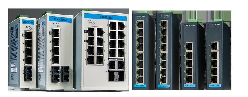 Unmanaged Ethenet Switches