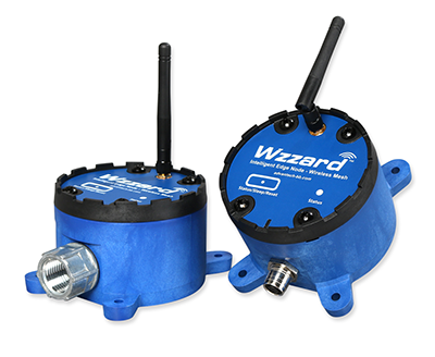 Wzzard Wireless Mesh Sensing Nodes