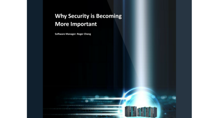 Technical Note: Why Network Security is Becoming More Important
